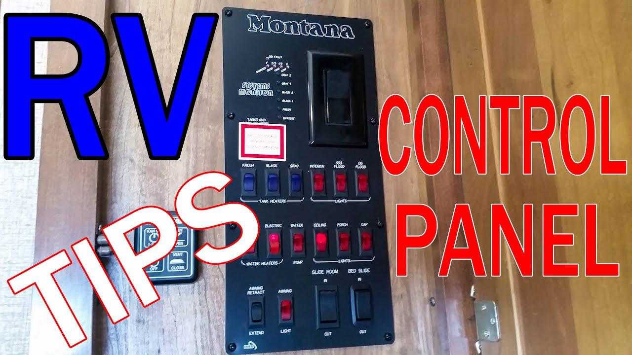 Rv Control Panel Explained Montana Rl