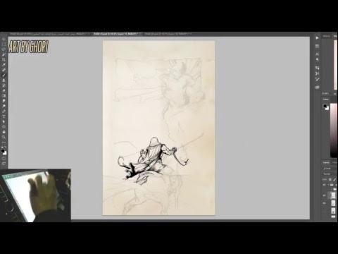 ArtStream - Graphic Novel inking