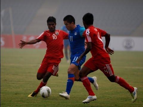 Semi Final 1: India vs Maldives (Highlights) SAFF Championship 2011