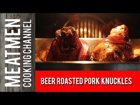 Beer Roasted Pork Knuckles