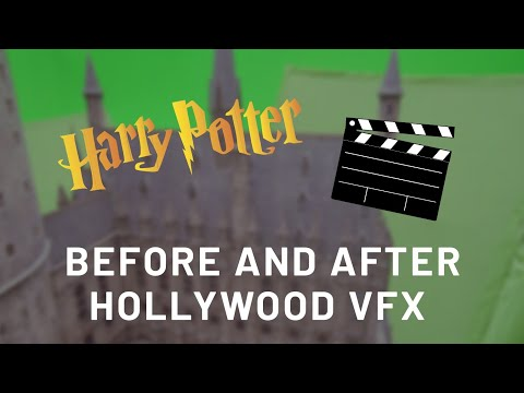 Harry Potter: Before and after Hollywood VFX
