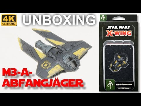 Star Wars X-Wing 2. Edition: M3-A-Abfangjäger - WELLE 5 - Unboxing - M3-A Interceptor (4K)