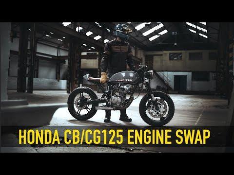 Honda CB/CG125 Engine Swap