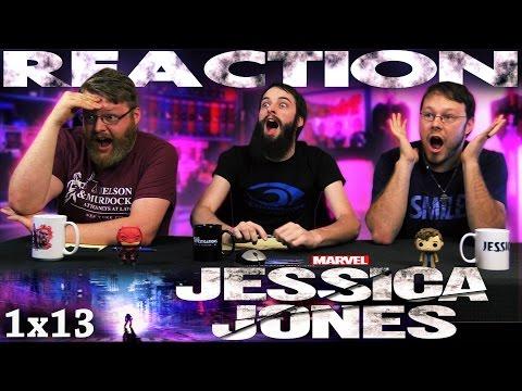 Jessica Jones 1x13 FINALE REACTION!! 'AKA Smile'