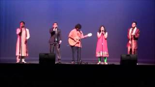 Bollywood Songs at Diwali Night 2014 Laramie Wyoming USA, Milaap   Indian Student Organization