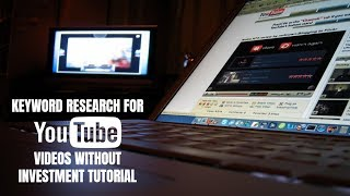 Keyword Research for YouTube Videos Without Investment Tutorial