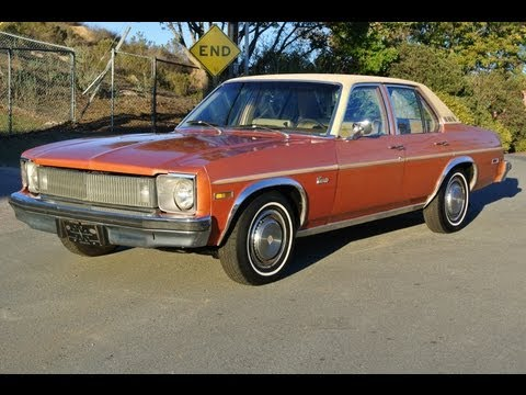 1977 Chevrolet Concours LN Luxury Nova V8 Classic Box Caprice 7300 Orig Miles 1 Owner