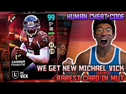 WE GET 99 OVR MICHAEL VICK! BEST CARD IN MUT! MADDEN 17 ULTIMATE TEAM