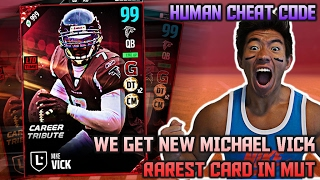 WE GET 99 OVR MICHAEL VICK! BEST CARD IN MUT!...
