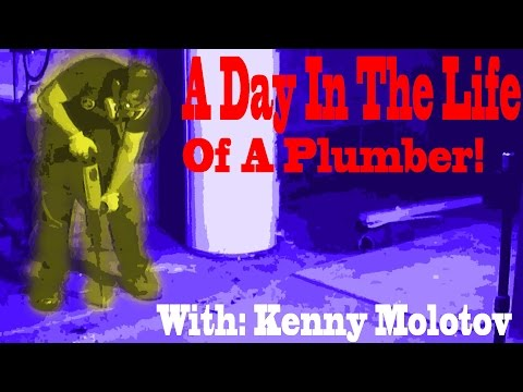 Day In The Life Of A Plumber/Plumbing Apprentice/ Plumbing Apprenticeship | Vlog | #2