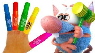 손가락 가족 노래 유아를위한 교육 비디오 Rattic …