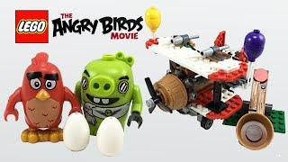 LEGO Angry Birds Movie Piggy Plane Attack set review! 75822