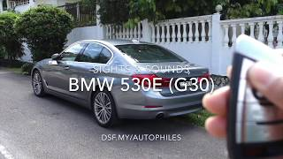 BMW 5-Series (530e, G30) Sights & Sounds