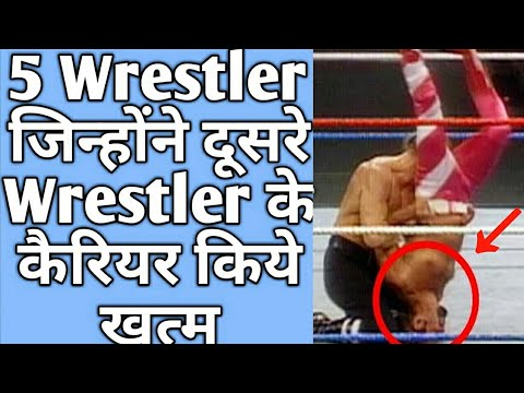5 Wrestlers Who ends other wrestler's Carriers