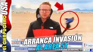 Fracasó invasión al Area 51, pero los m...