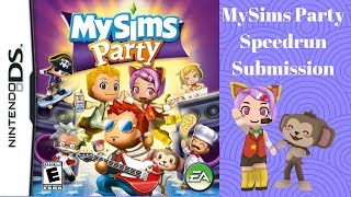 MySims Party Speedrun.com Submission