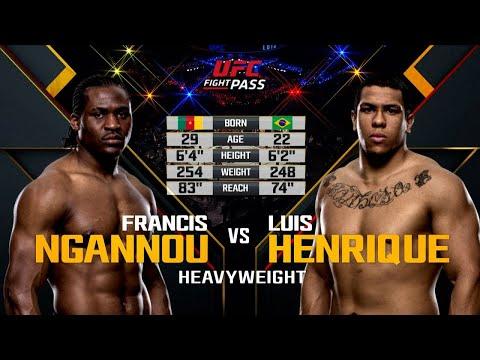 Дебют Фрэнсиса Нганну в UFC