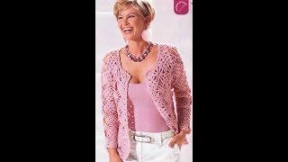 Летняя Кофточка Крючком для Женщины 2018/ Summer Blouse Crochet for Woman/ Sommerbluse Hook für Frau