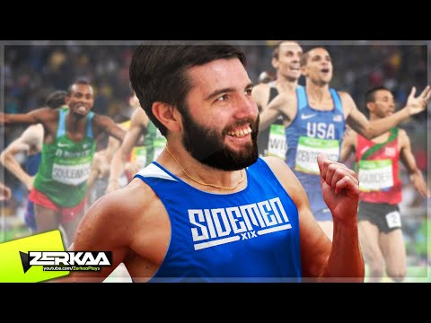 NEW OLYMPICS GAME!? (Summer Athletics)