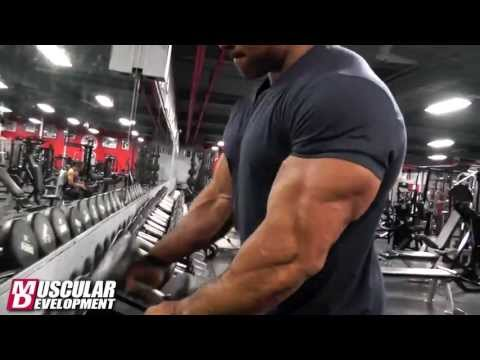 Victor Martinez   Arms Workout 5 Days from the 2013 Mr Olympia