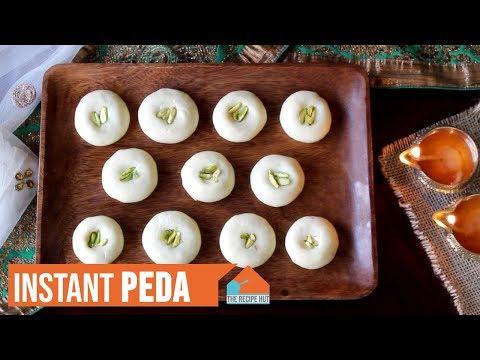 instant-peda-recipe- -milk-fudge-i-peda-instant-pot- -milk-powder-and-condensed-milk-peda