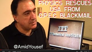 How USA used physics to stop OPEC blackmail, cars, LED, oil, cng, natural gas, presentation