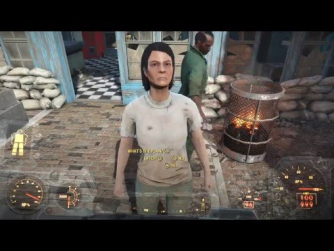 Fallout 4 (Last Voyage Of The U.S.S. Constitution) Alternate Ending Siding With The Scavengers HD