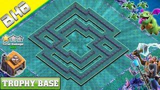 BEST Builder Hall 6 Base (BH6 Base) 2019 | Builder Hall 6 Trophy Base Design- Clash of Clans