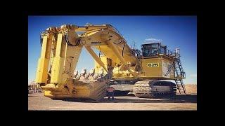 Top 10 Heavy Equipment Biggest Excavator Operator Skills \u0026 Modern Extreme ACTION Tyre Chains