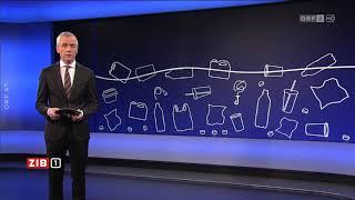 EU will Plastik wiederverwertbar machen ORF ZIB1
