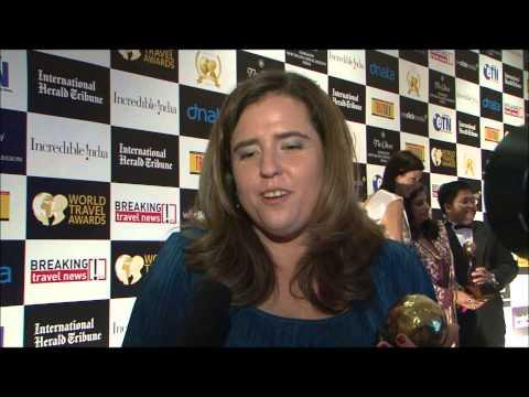 Mariella Soldi, director of country image, PromPeru, at World Travel Awards Grand Final 2012