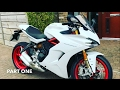 2017 DUCATI SUPER SPORT S, loan bike whilst my 959 has a service, and random chat, Part 1