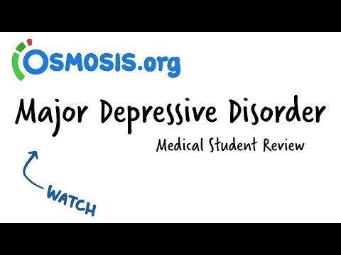 Major Depressive Disorder | Clinical Presentation