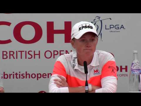 Stacy Lewis' Pre-Tournament Interview at the 2014 RICOH Women's British Open