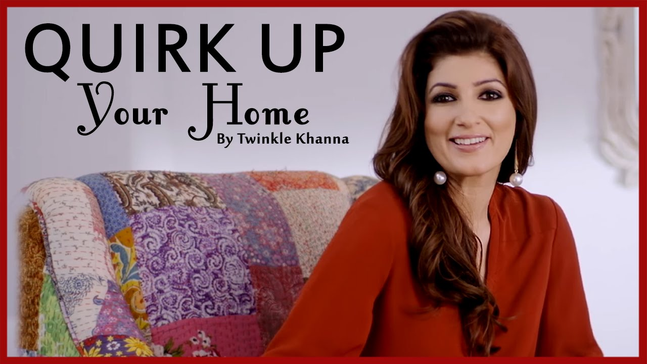 home decor tips interior design ideas for indian home diy videos twinkle khanna youtube. Black Bedroom Furniture Sets. Home Design Ideas