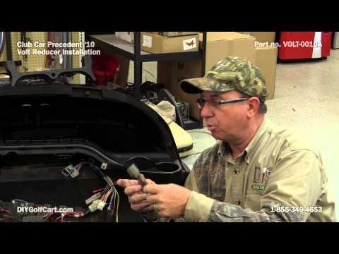 Club Car Precedent Voltage Reducer | How to Install on Golf Cart