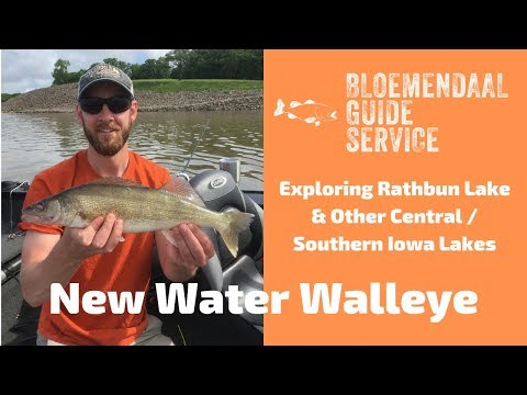 New Water Walleye - Exploring Rathbun Lake & Other Iowa Waters