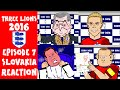 Reaction slovakia vs england 0-0 russia vs wales 0-3 euro 2016 cartoon highlights