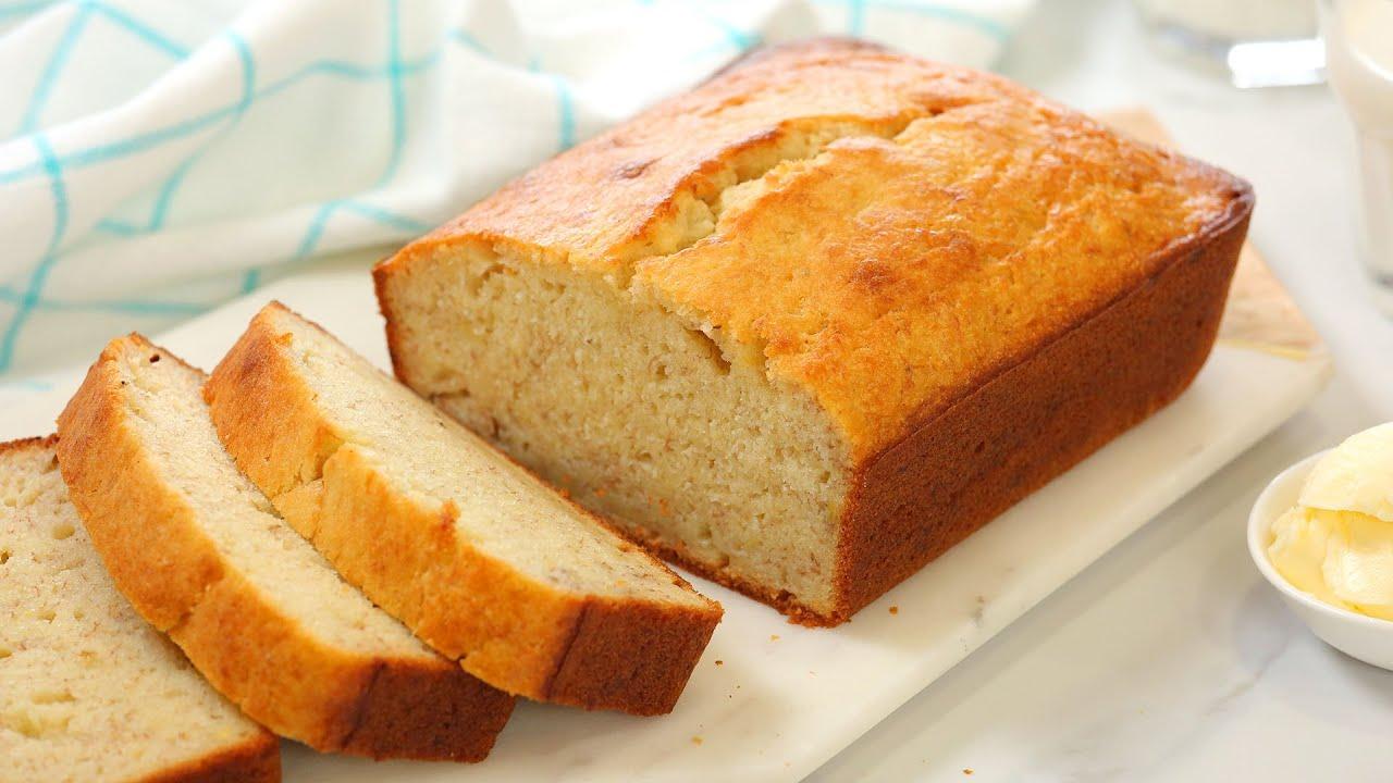 Homemade Banana Bread | My Grandma's Easy & Delicious Recipe