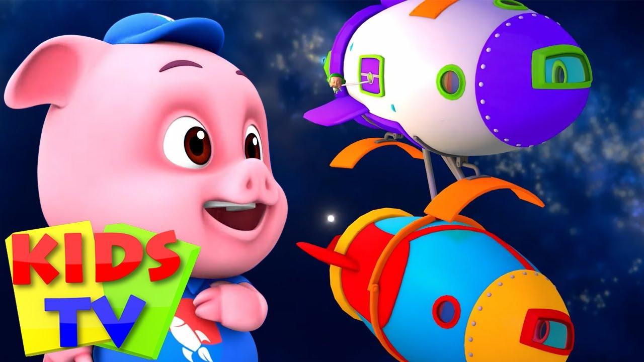 การเดินทางในอวกาศ | วิดีโอก่อนวัยเรียน | Kids Tv Thailand | การ์ตูนสำหรับเด็ก | โรงเรียนอนุบาล