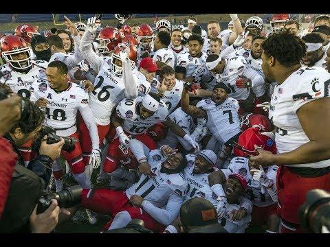 2018 American FB Highlights - Military Bowl - Cincinnati 35, Virginia Tech 31