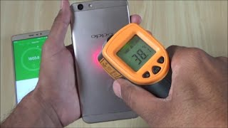 Oppo F1s Heating Test