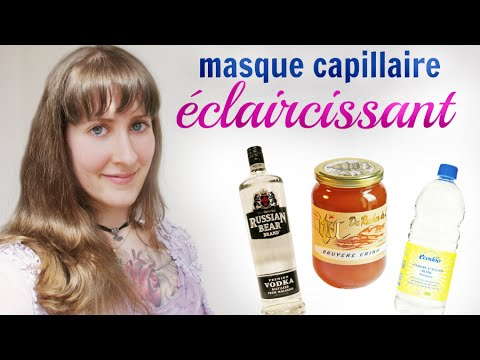 recette masque claircissant pour les cheveux youtube. Black Bedroom Furniture Sets. Home Design Ideas