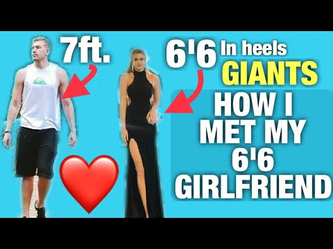 HOW I MET MY 6'6 GIRLFRIEND (Tallest couple on YouTube)