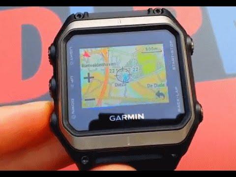 Garmin Epix In Depth - Navigating Maps Functions on