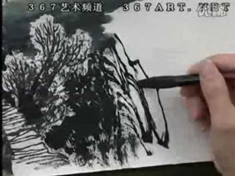 Zeng Gang 曾刚山水画 DVD Course of Chinese Landscape Painting (Disk 1-9)