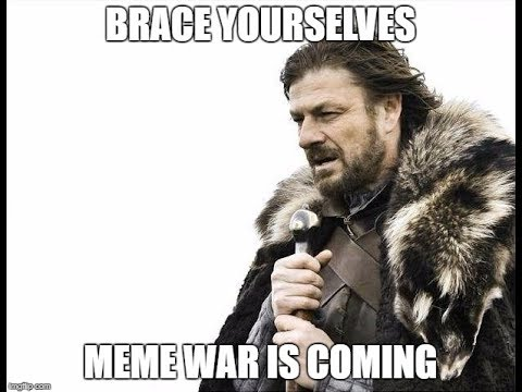 hqdefault we didn't start the meme war parody of billy joel's we didn't,Start A Fire Meme