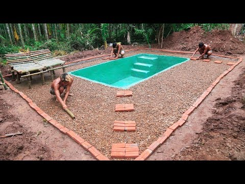 Build swimming pool of water-part 3