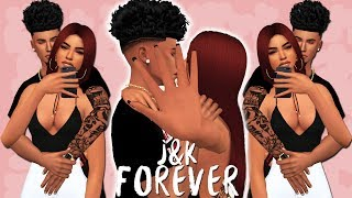 YOUR FAVE TEEN COUPLE | THE SIMS 4 | J&K FOREVER - Create A Sim
