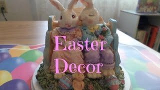Easter Decor 2015